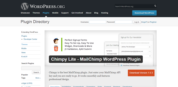 Chimpy: Email List Management Service