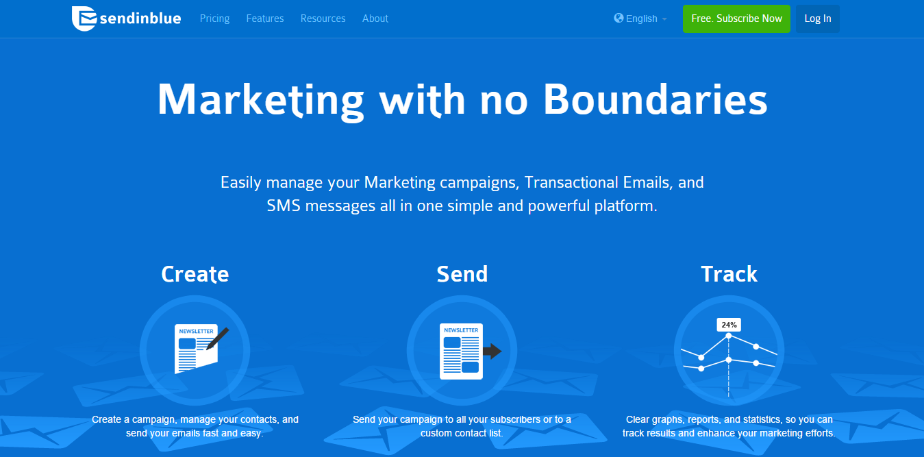 SendinBlue: Best Email List Management Tools
