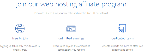 BlueHost: Best Affiliate Marketing Sites