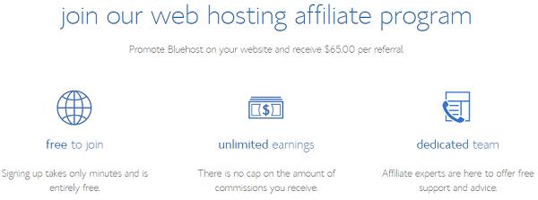BlueHost: Best Affiliate Marketing Sites