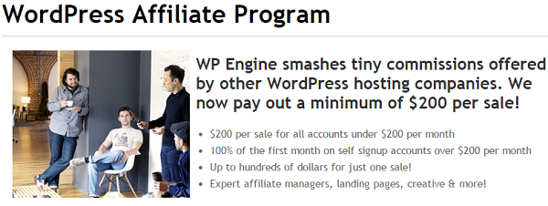 WP Engine: Top Affiliate Marketing Programs