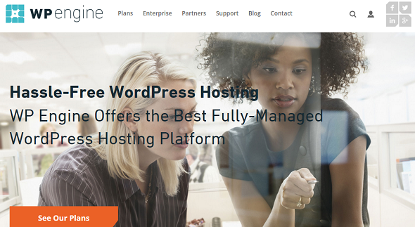 WP Engine: Best Managed WordPress Hosting Companies