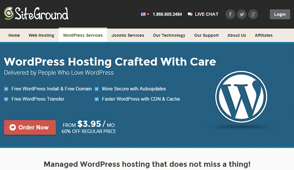SiteGround: WordPress Managed Hosting Service