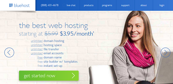 bluehost managed