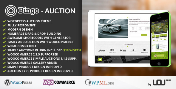 Best WordPress Auction Themes to build your bidding site