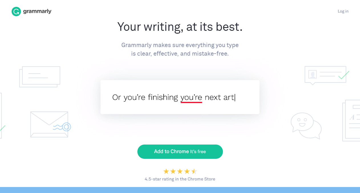 Grammarly Proofreading Software Dimensions In Mm