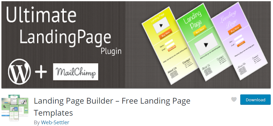 Landing Page Builder wp