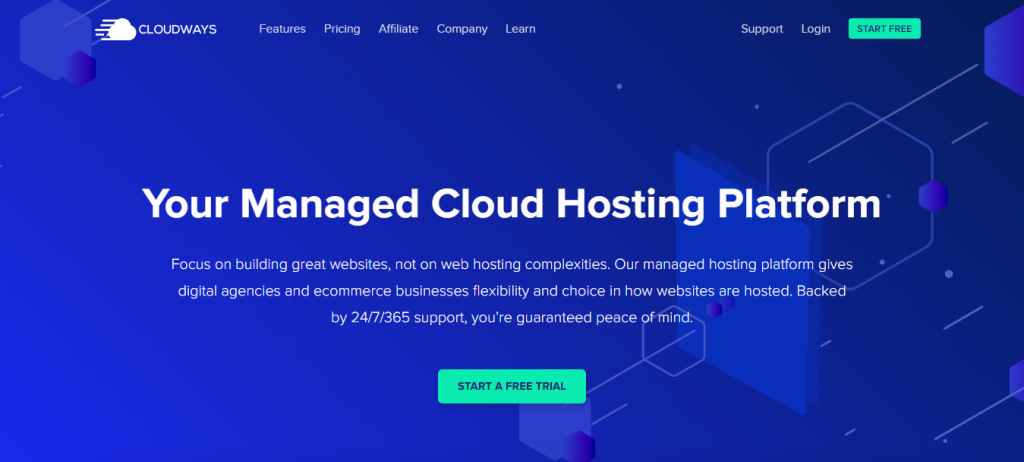 WordPress hosting for designers