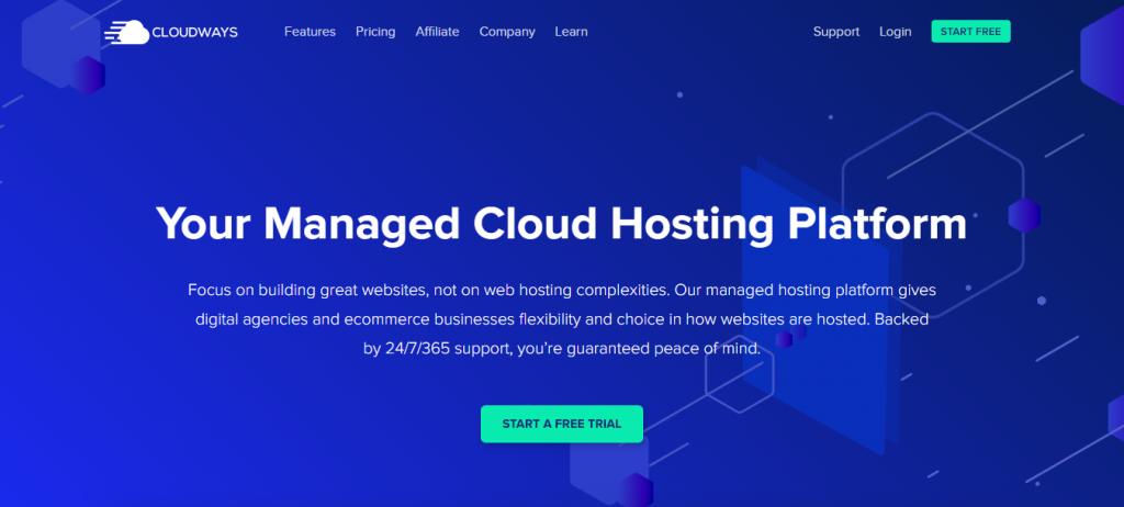 WordPress hosting for designers
