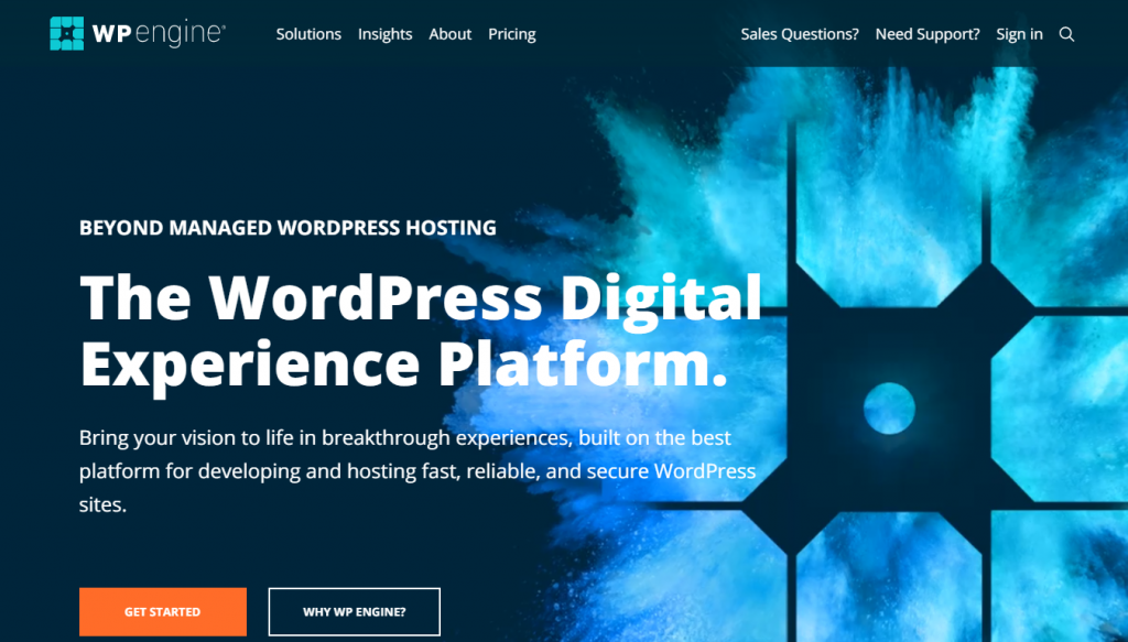 Scalable WordPress hosting