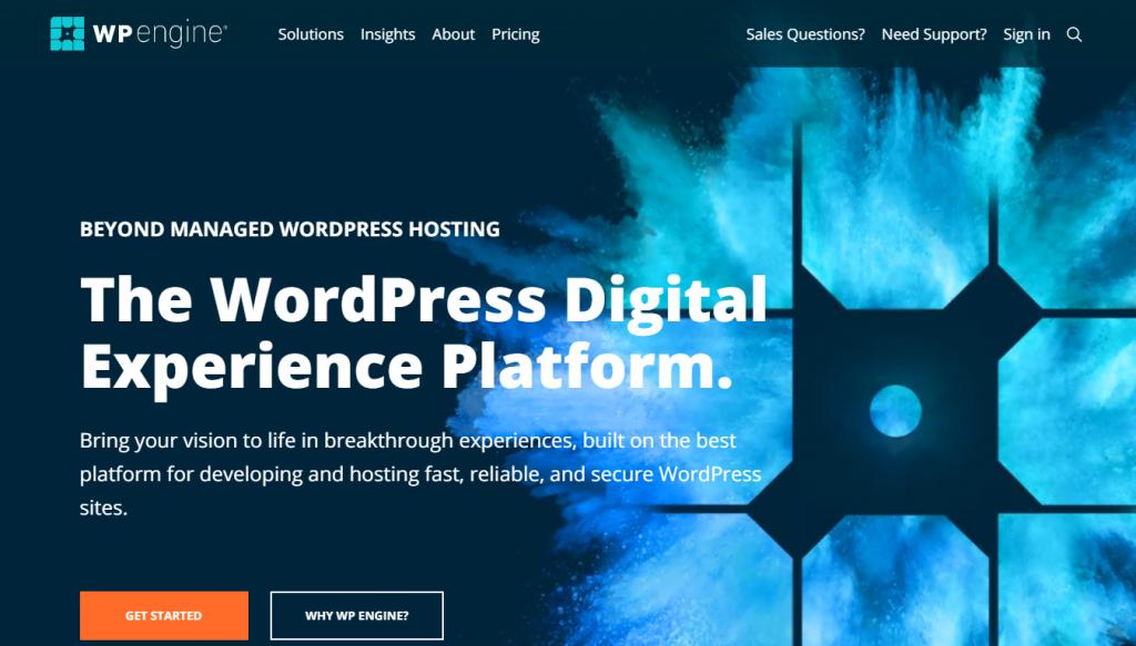 Scalable WordPress hosting