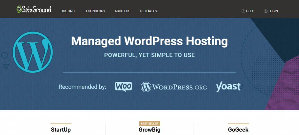 fully managed WordPress hosting
